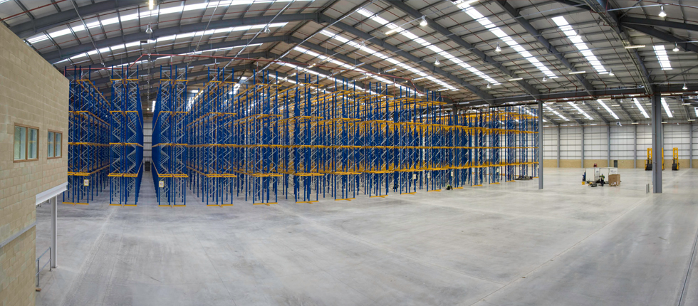 CM Downton Award Axiom Lighting Project at new Local Distribution Centre