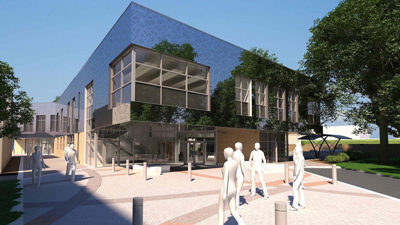 Oxford High School – Sixth Form Design Building
